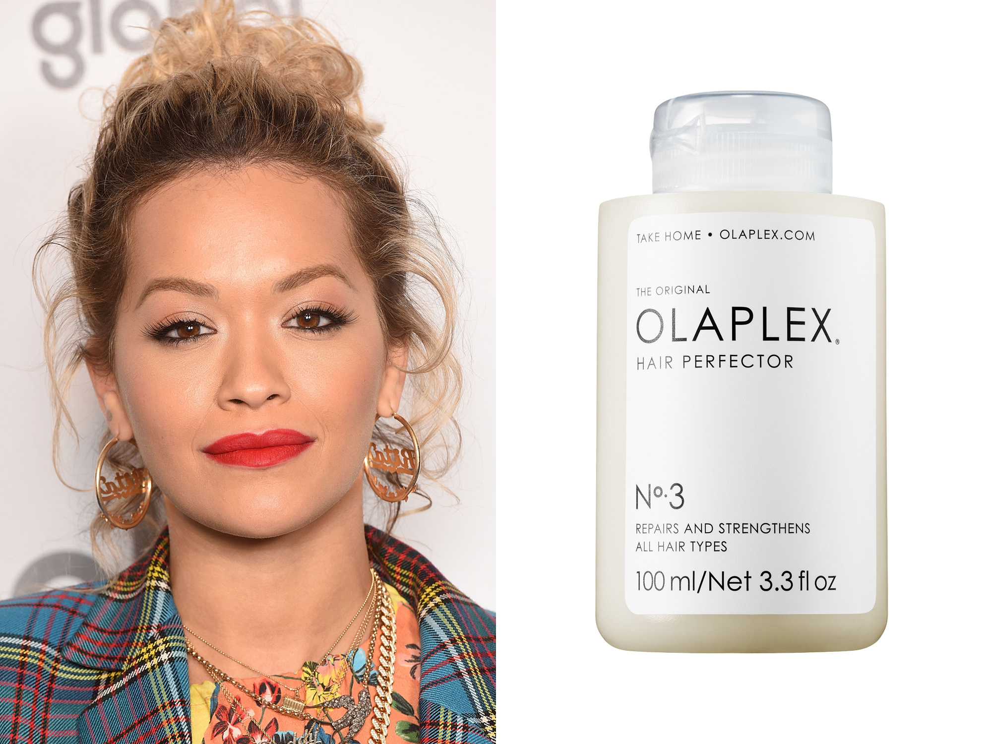 Rita Ora: Olaplex Hair Perfector No. 3