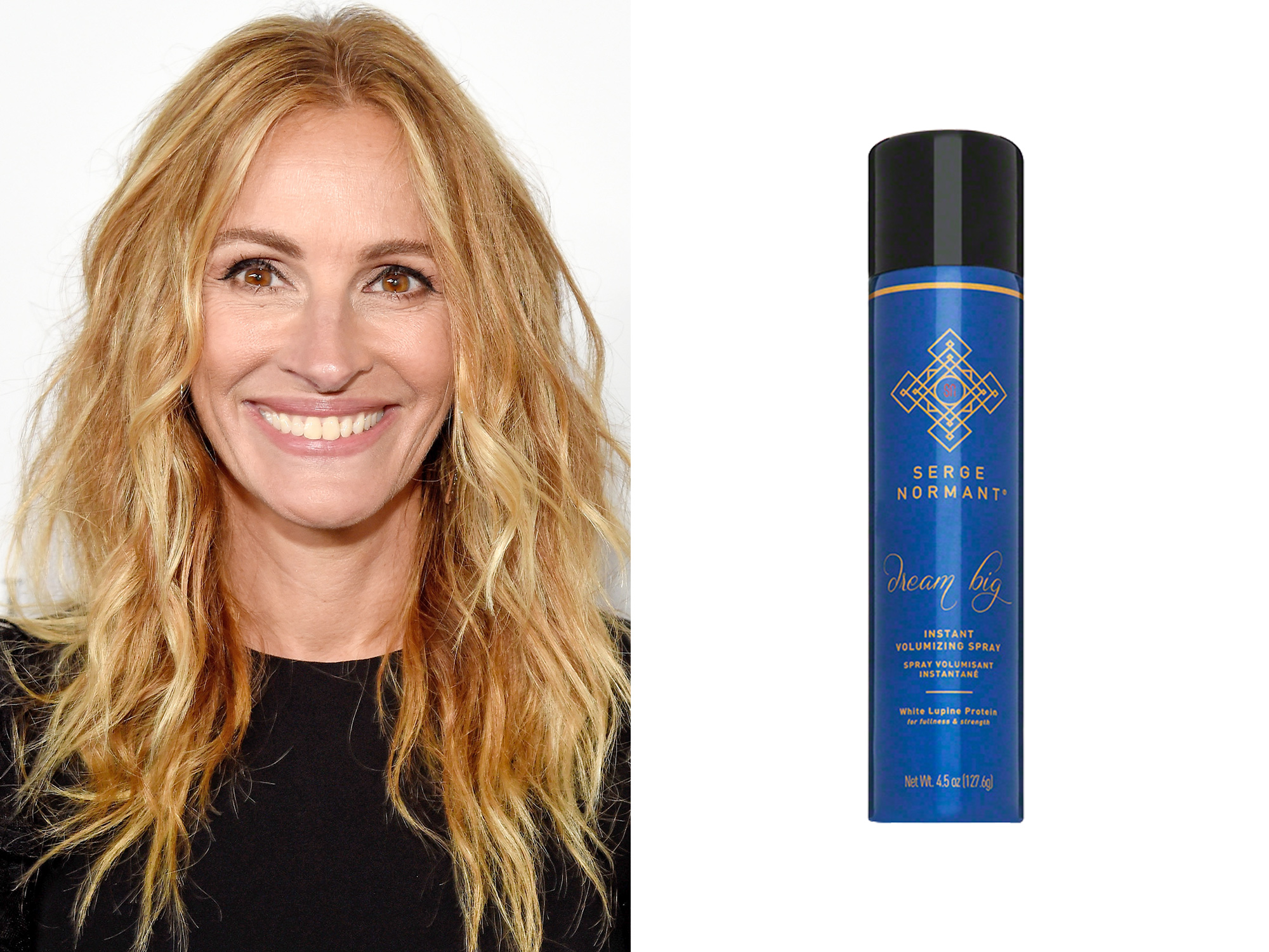 Julia Roberts: Serge Normant Dream Big Instant Volumizing Spray