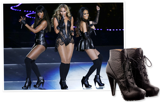 Beyonce Shoes Super Bowl