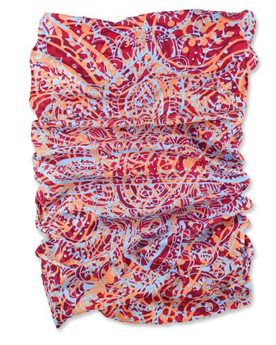 A Scarf With UV Protection