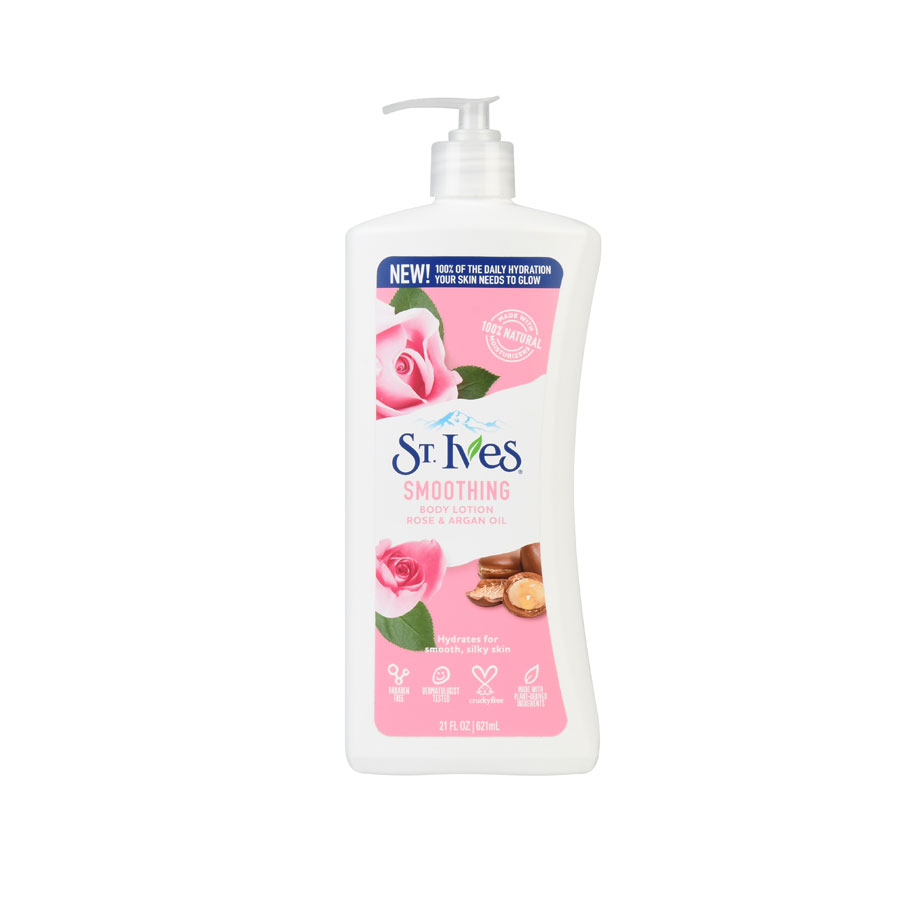 St. Ives Smoothing Rose & Argan Body Lotion