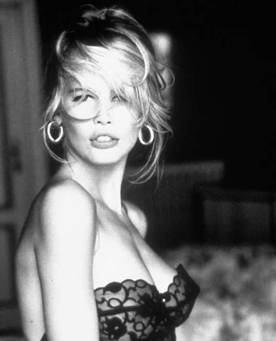 Claudia Schiffer, 19: THEN