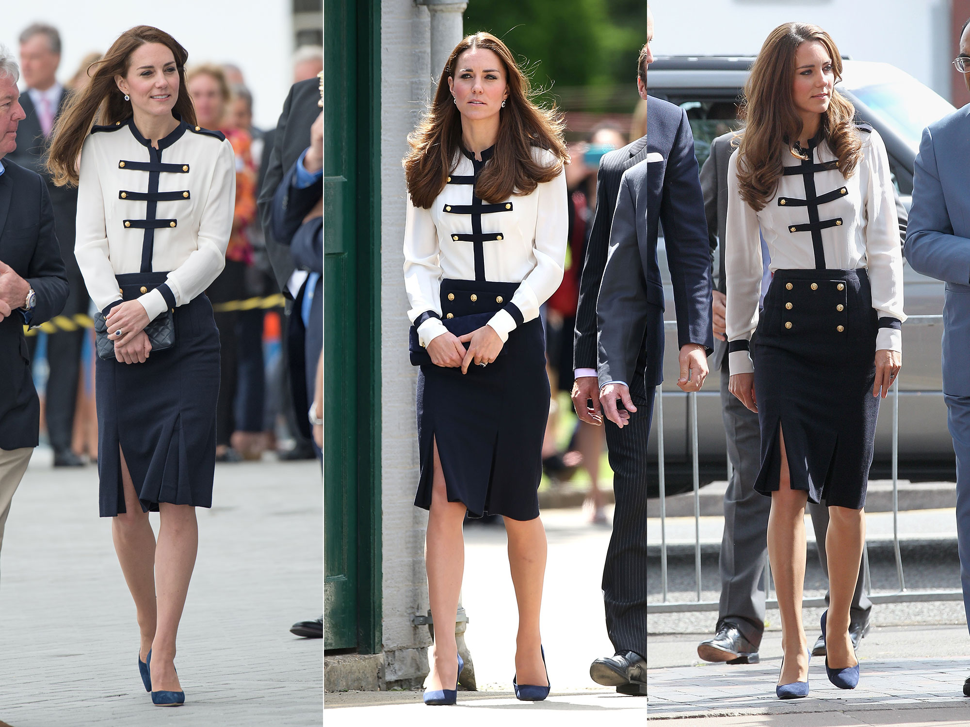 Nautical-Inspired Alexander McQueen Outfit