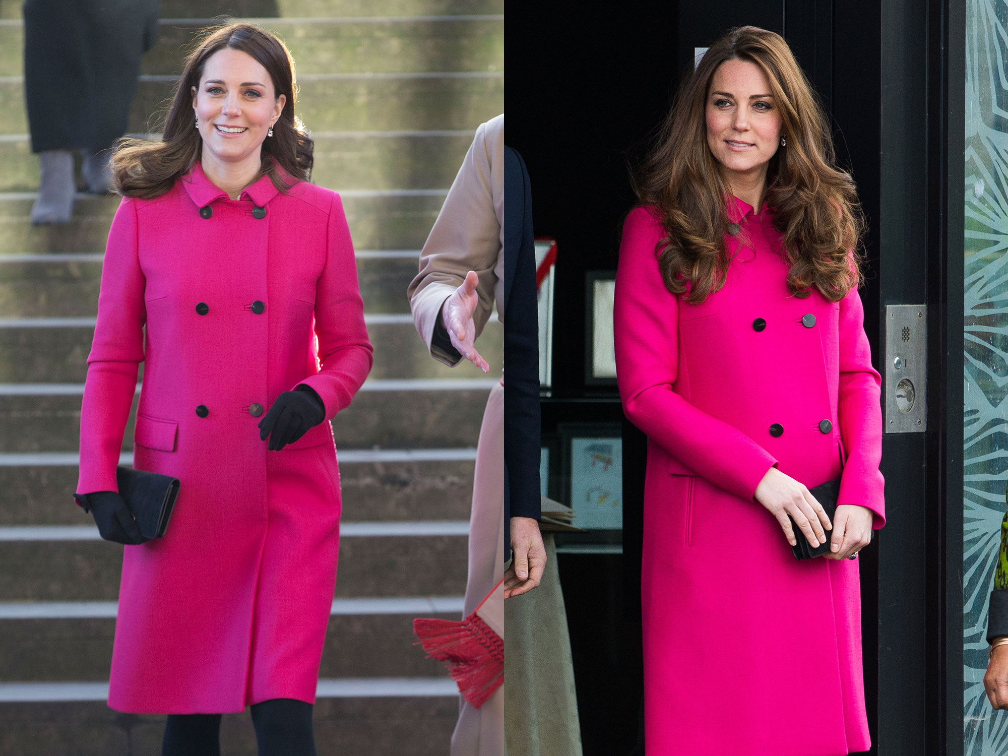 Pink Mulberry Coat