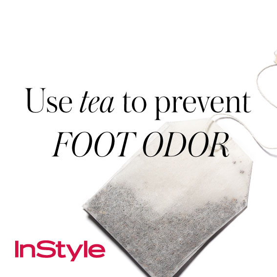 20 tips - Use Tea to Prevent Foot Odor