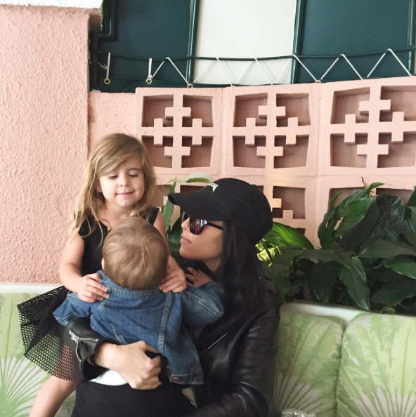 Kourtney Kardashian, Penelope and Reign