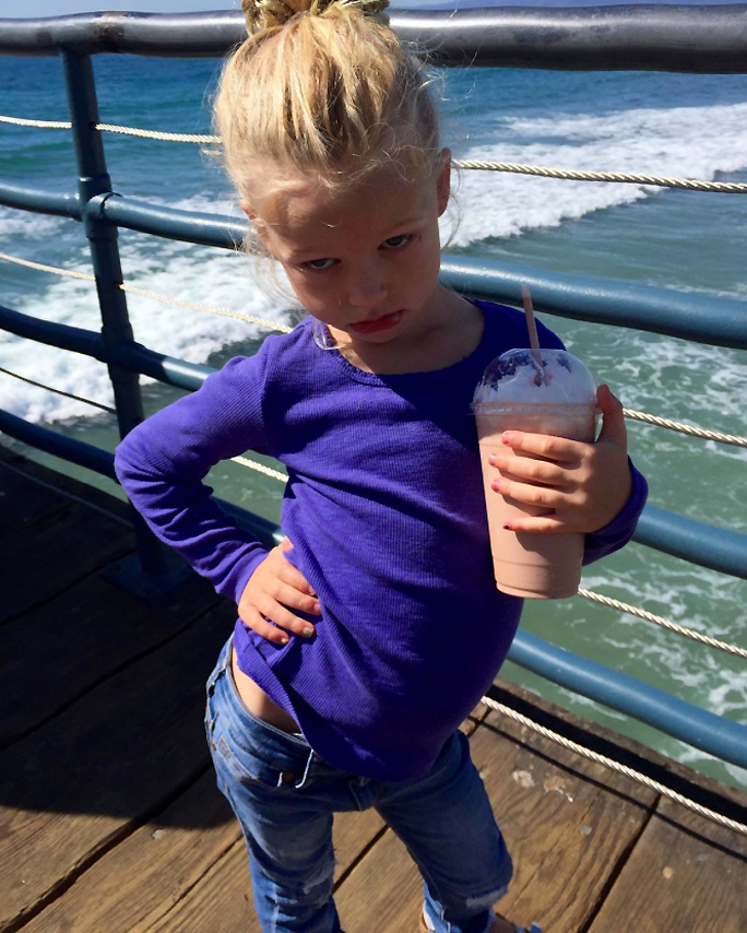 Jessica Simpson's Daughter Maxi Drew