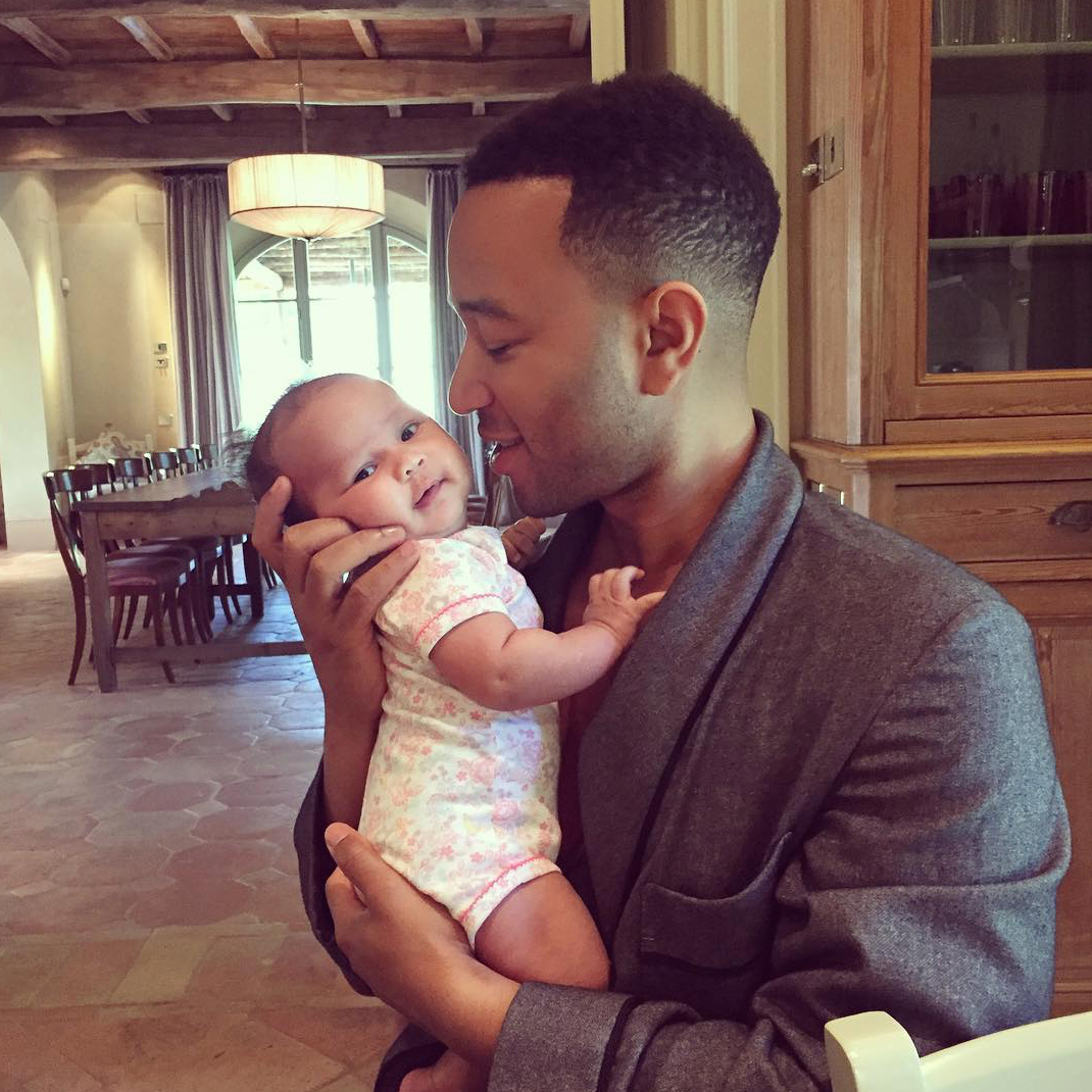 John Legend and Luna