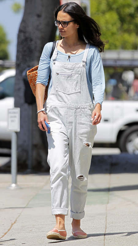 Celebrities in Overalls: Jordana Brewster