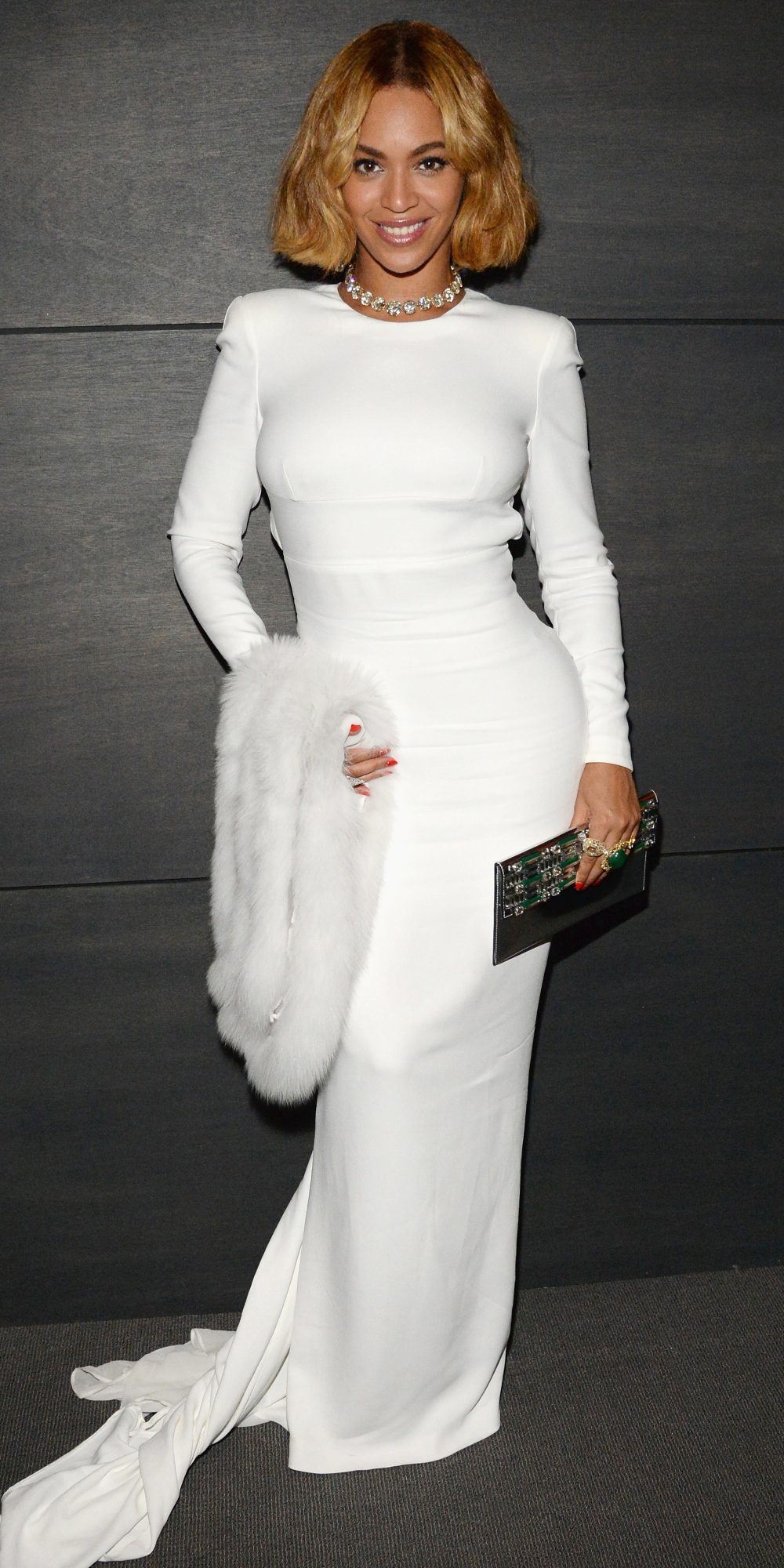 Beyonce attends the 2015 Vanity Fair Oscar Party