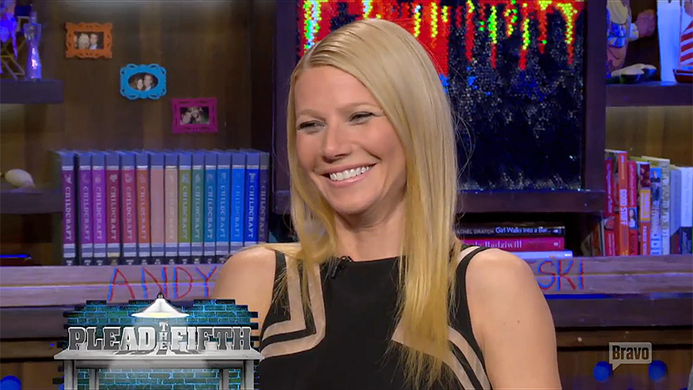 Gwyneth Paltrow Plead the Fifth WWHL