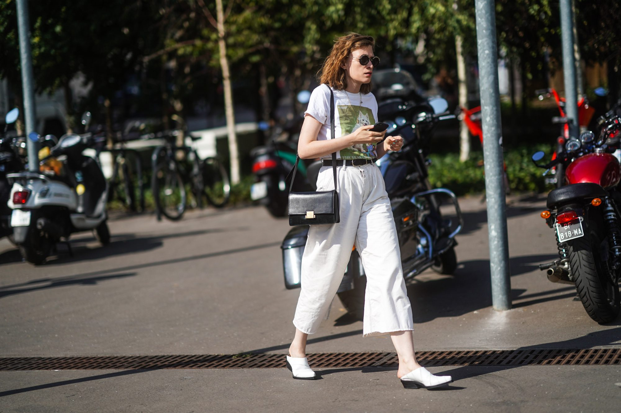 Summer Outfits, White Wide Leg Pants