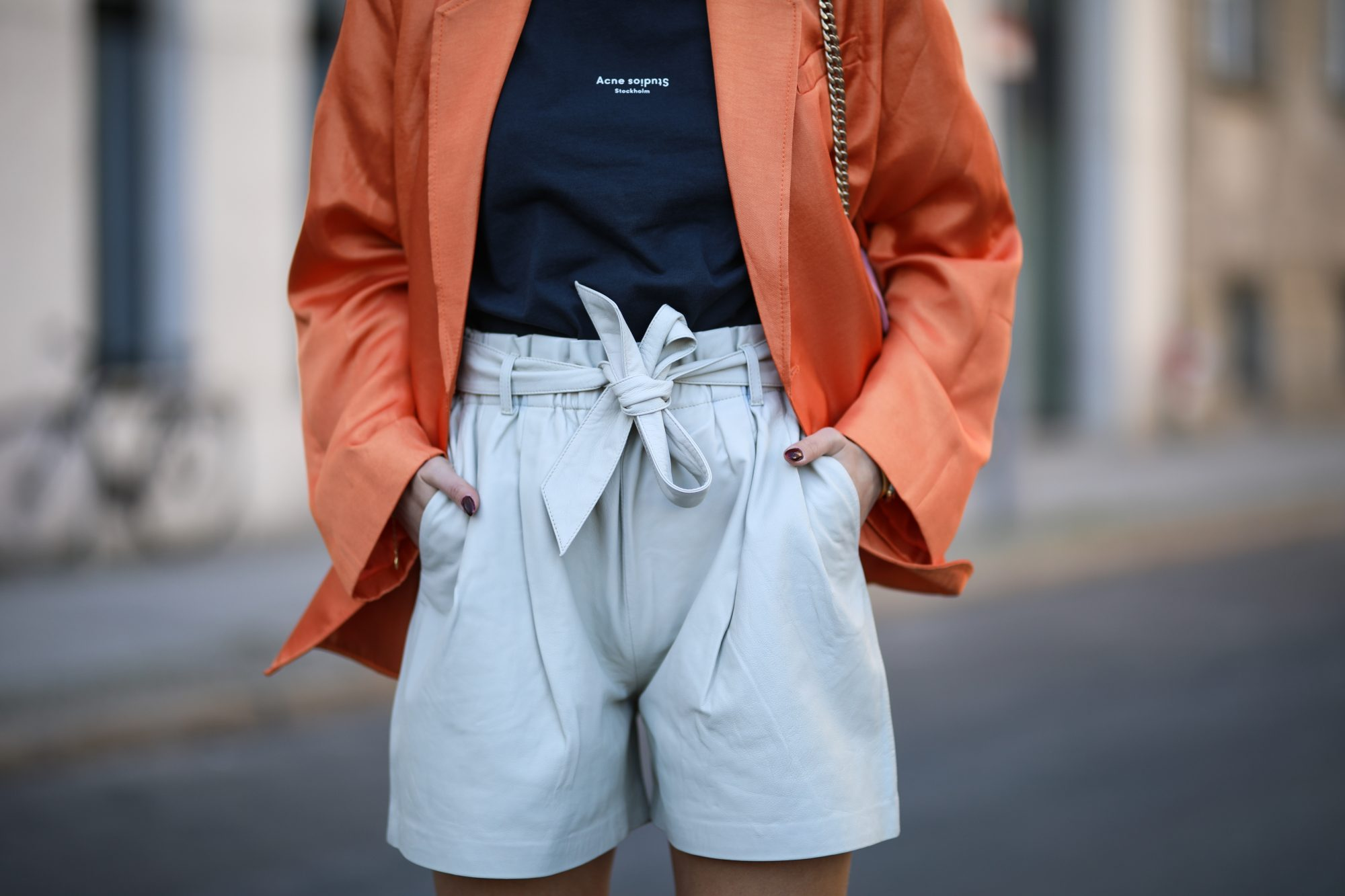 Summer Outfits, Shorts and Blazer Outfit Idea