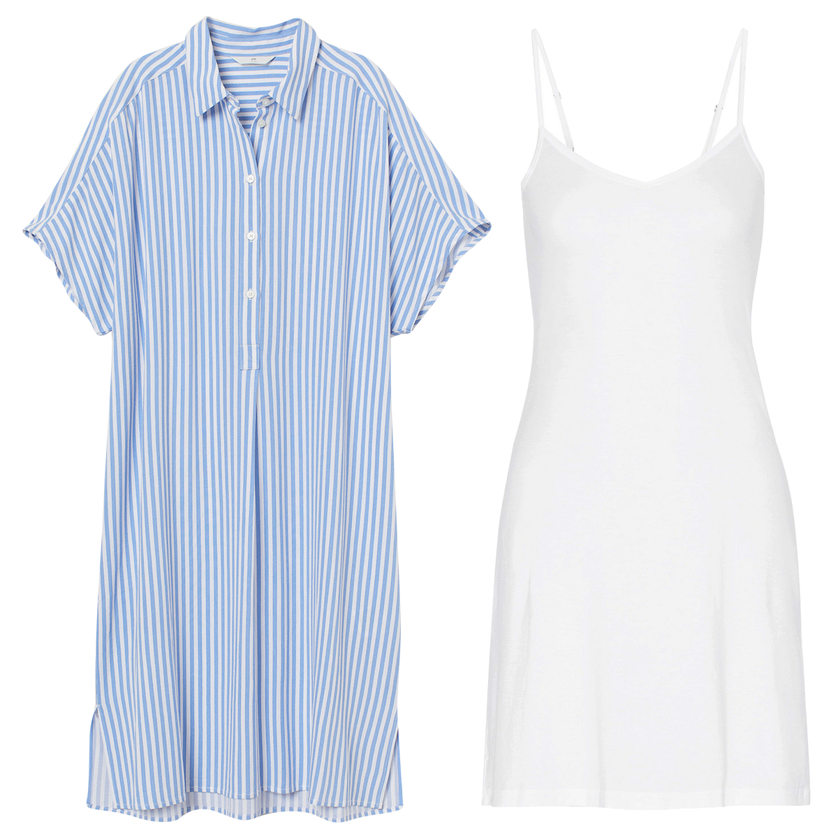 The Problem: A Semi-Sheer Shirt Dress