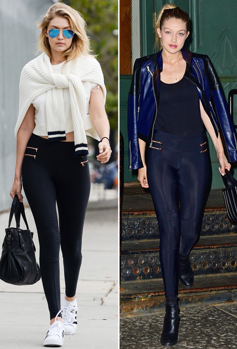 Celebs in Leggings