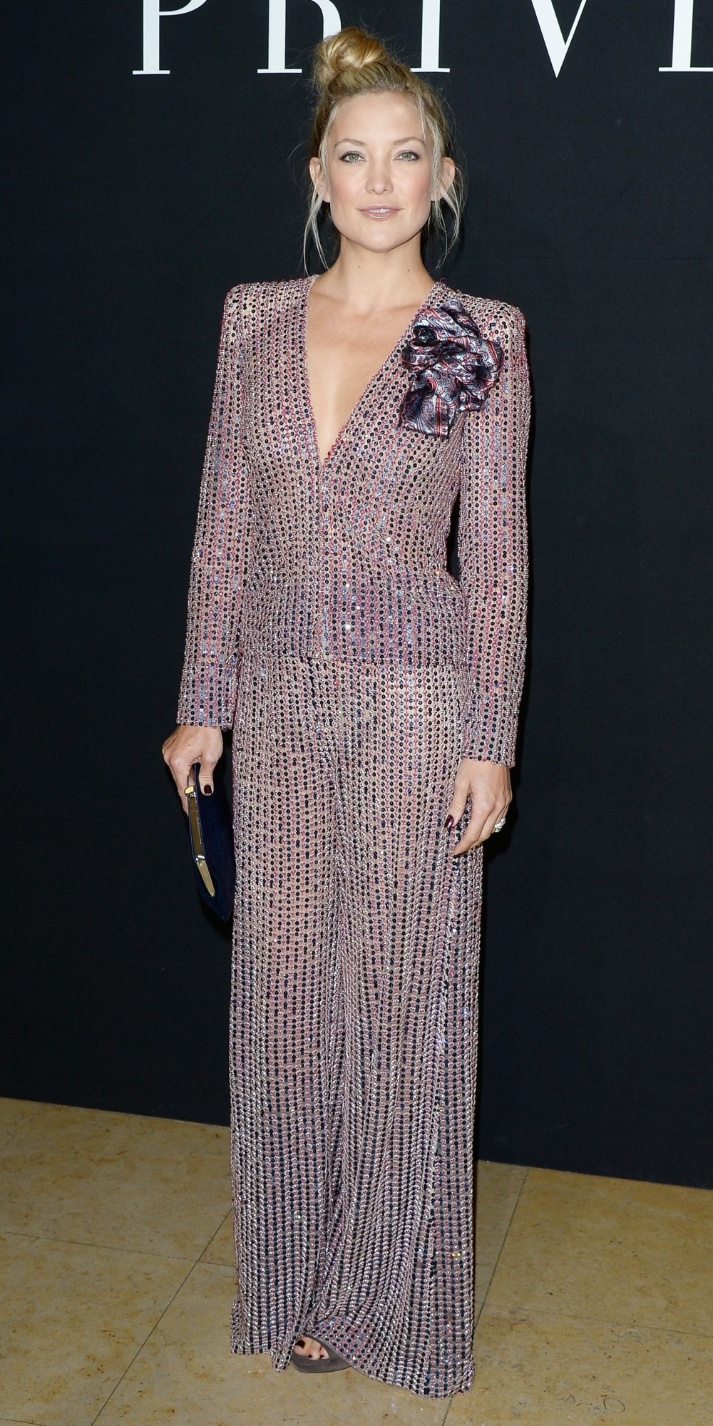 Giorgio Armani Prive : Front Row  - Paris Fashion Week : Haute Couture Fall/Winter 2014-2015