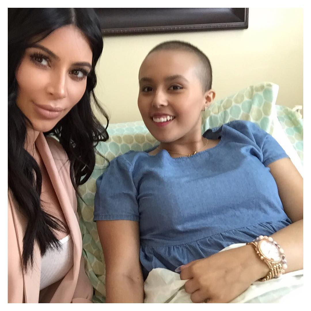 Kim Kardashian Make A Wish Lead