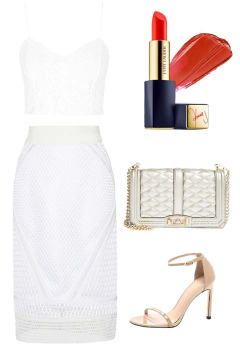 Kendall Jenner's White Outfit - Embed