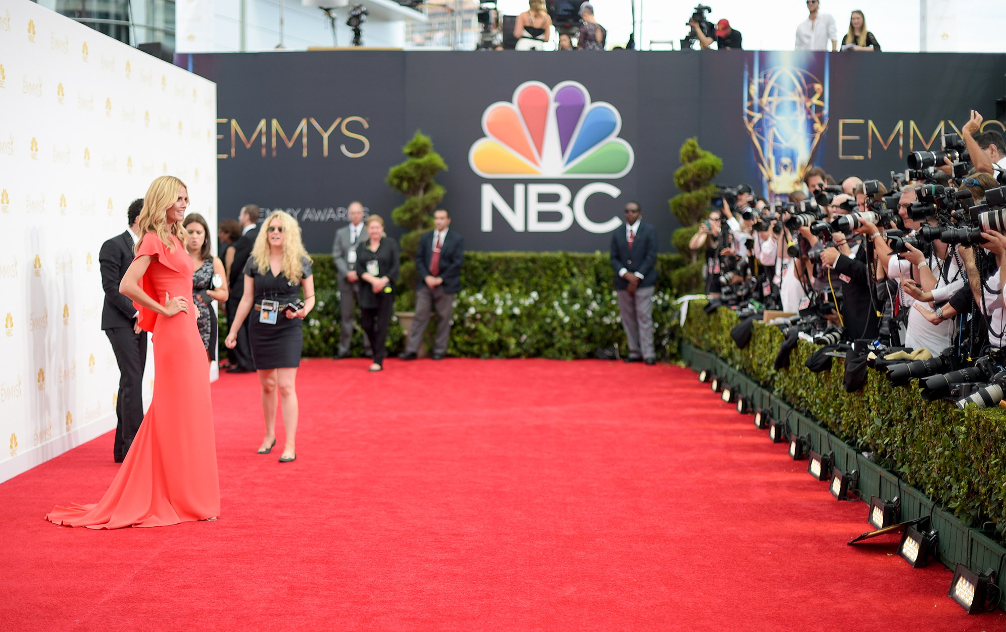 NBC's 66th Annual Primetime Emmy Awards - Red Carpet