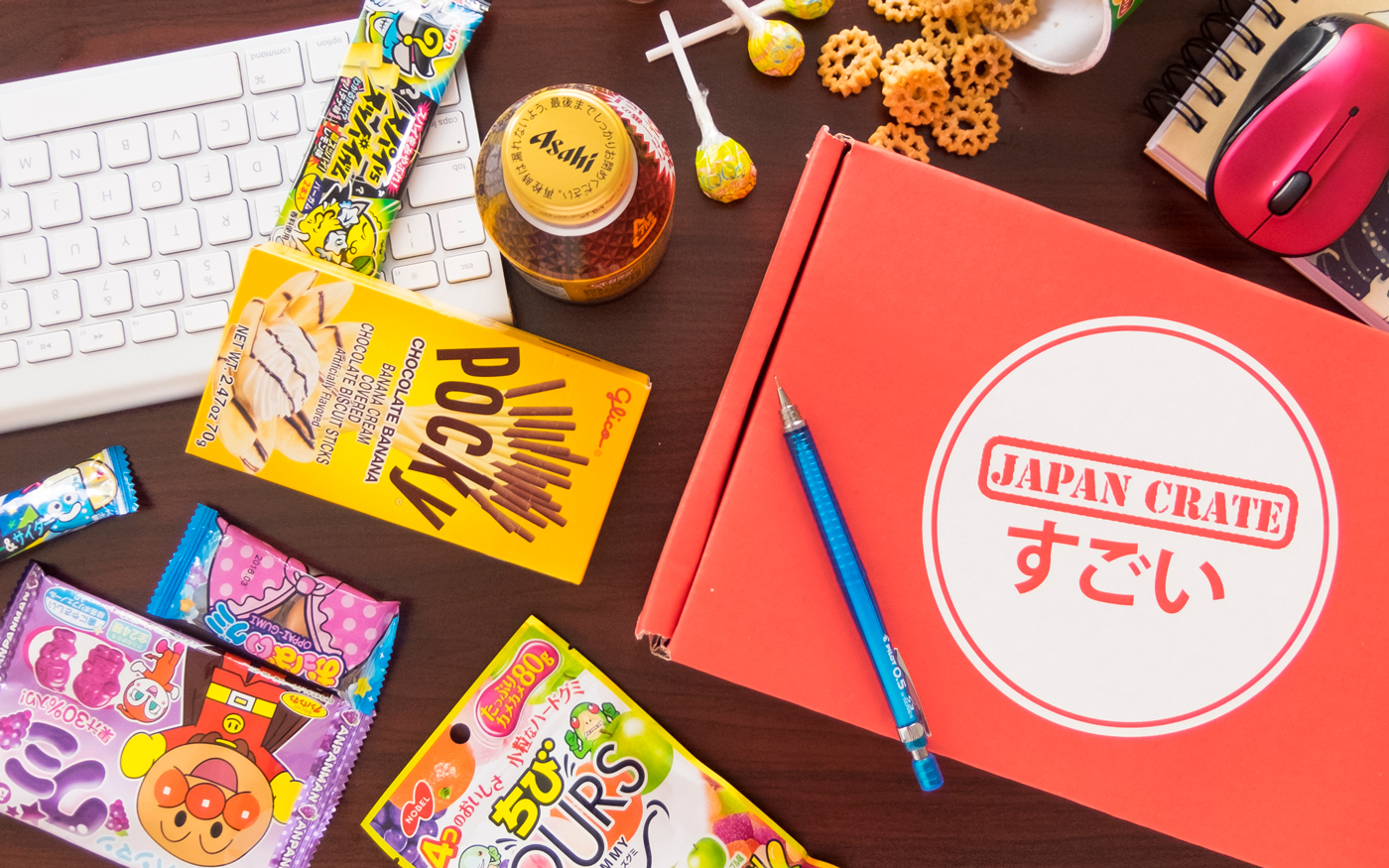 Japan Crate candy subscription box