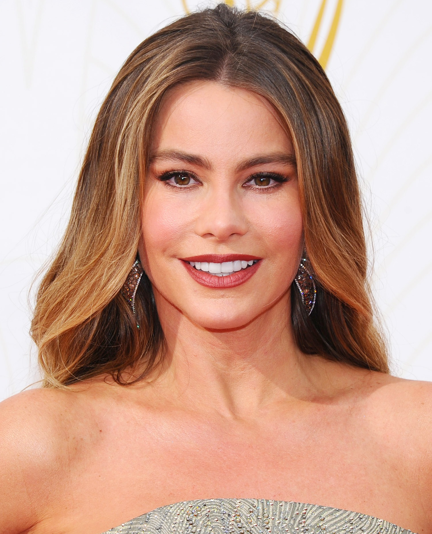 Sofia Vergara's Brick Red Lip