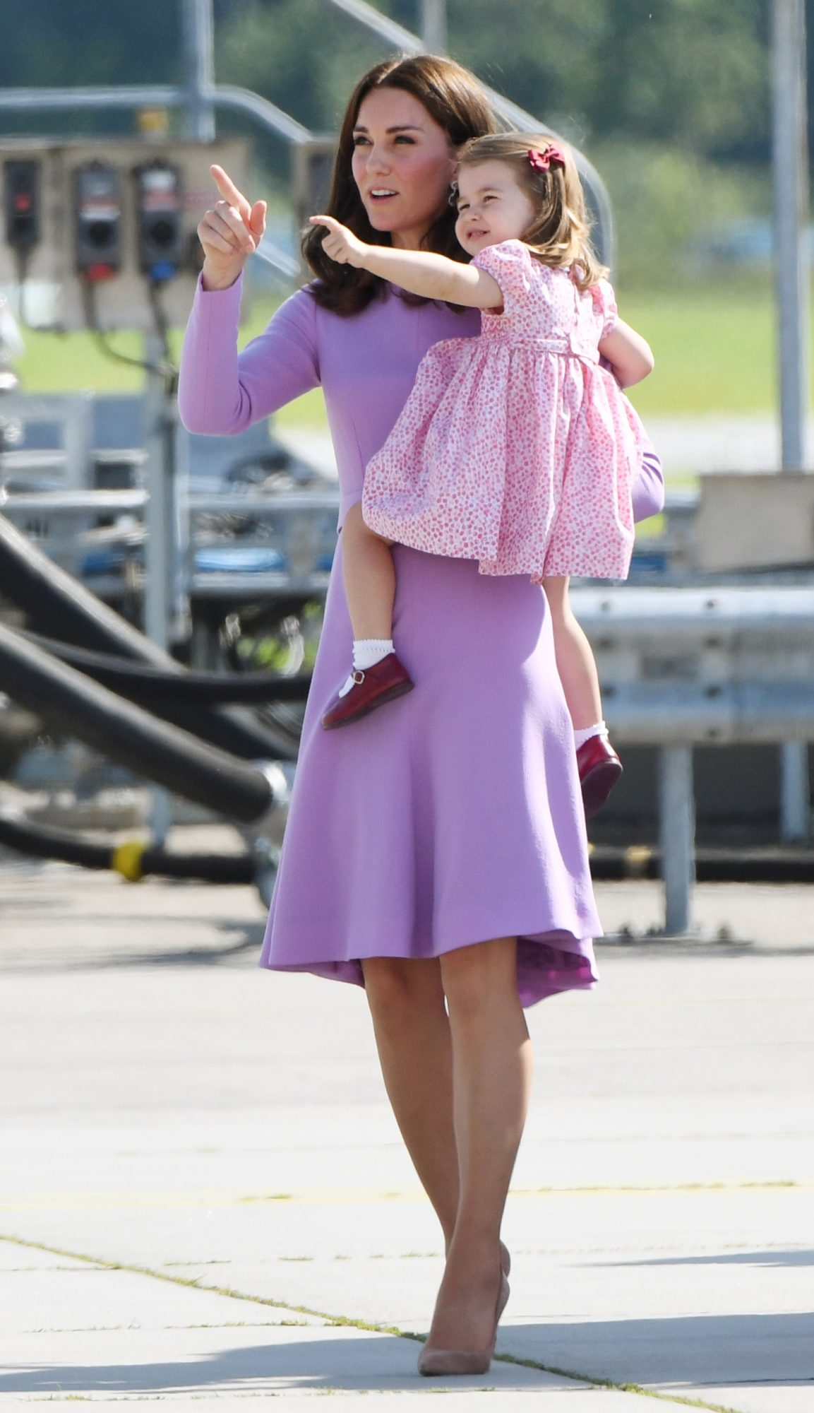 Princess Charlotte Goes on a Royal Tour