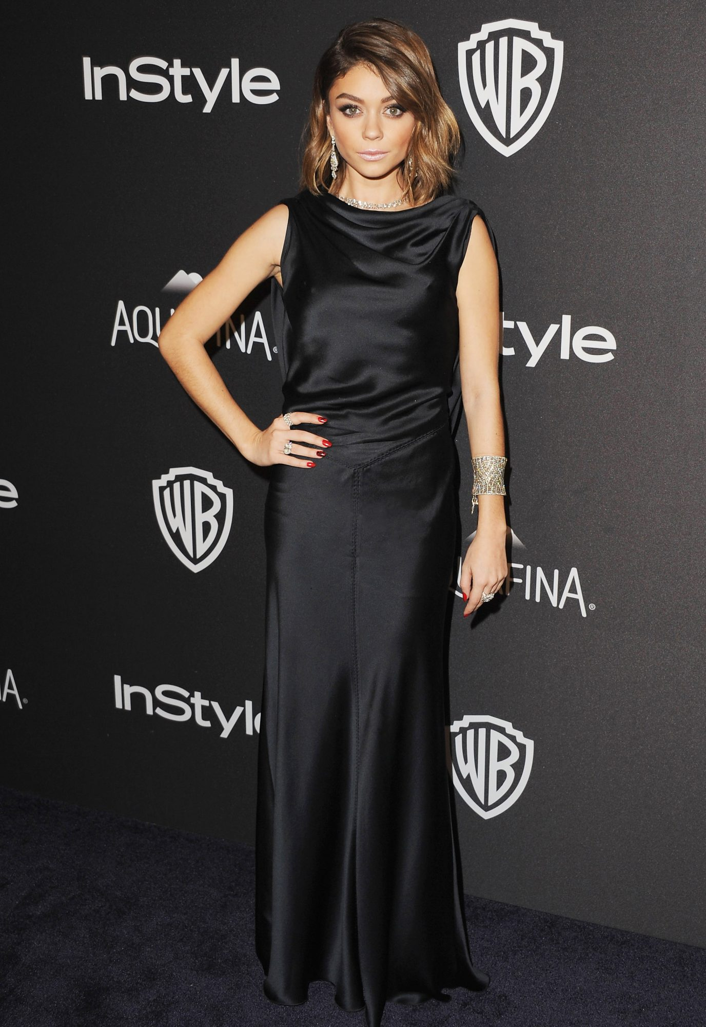 Sarah Hyland - InStyle And Warner Bros. 73rd Annual Golden Globe Awards Post-Party- January 10, 2016