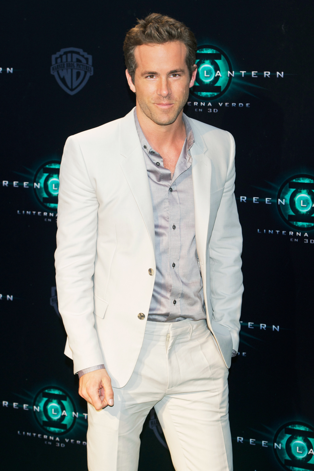 At the Green Lantern premiere in Los Angeles, 2011.
