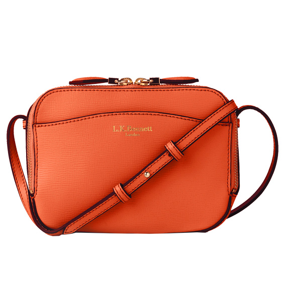 LK Bennett leather cross body bag