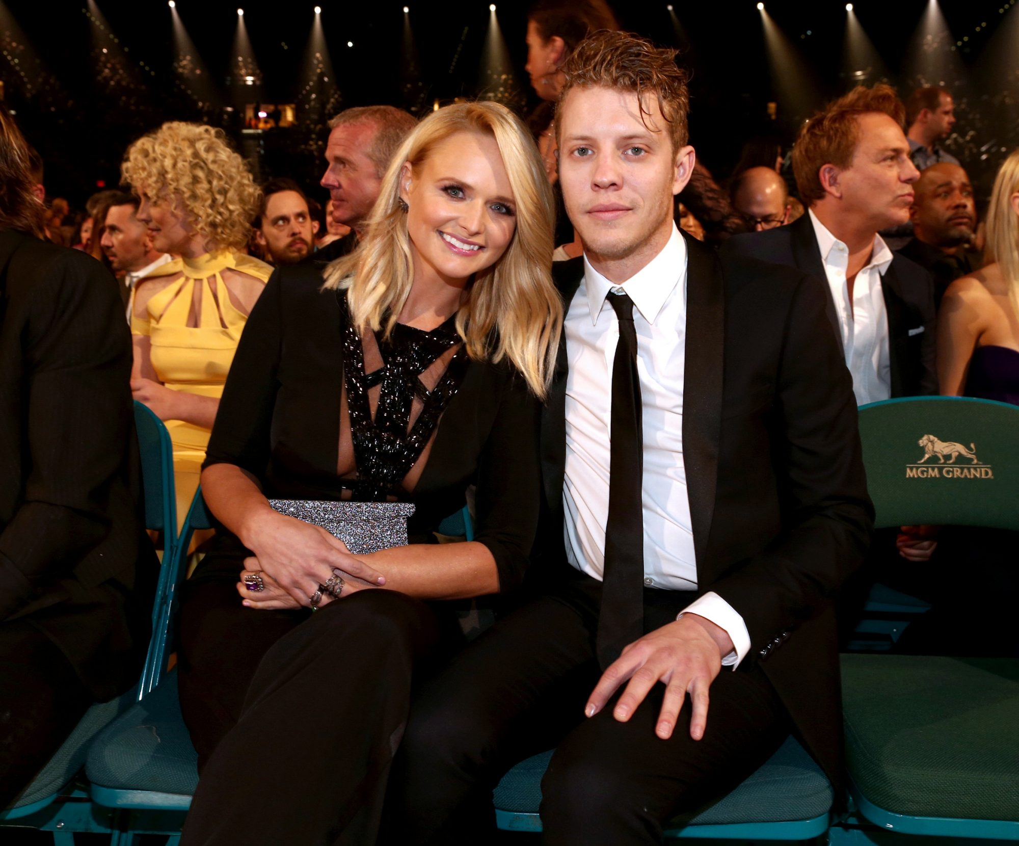 Miranda Lamber Anderson East Red Carpet Debut - Embed