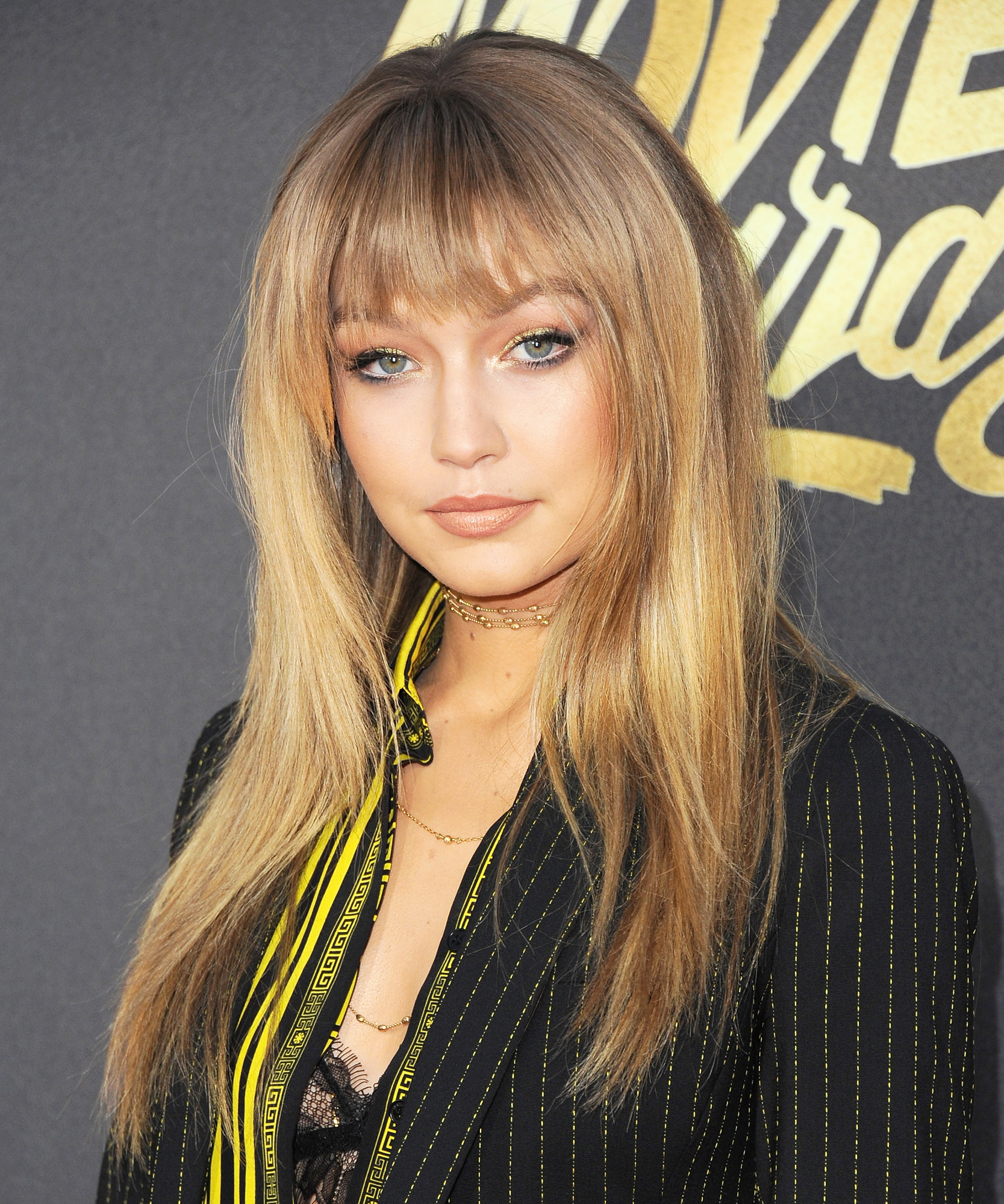 Gigi Hadid MTV Movie Awards Headshot - Lead 2016