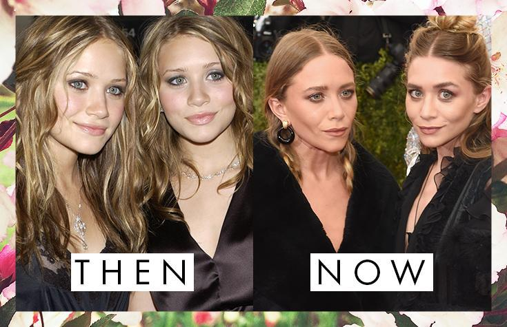 Mary Kate and Ashley Olsen's Eyebrows Then and Now