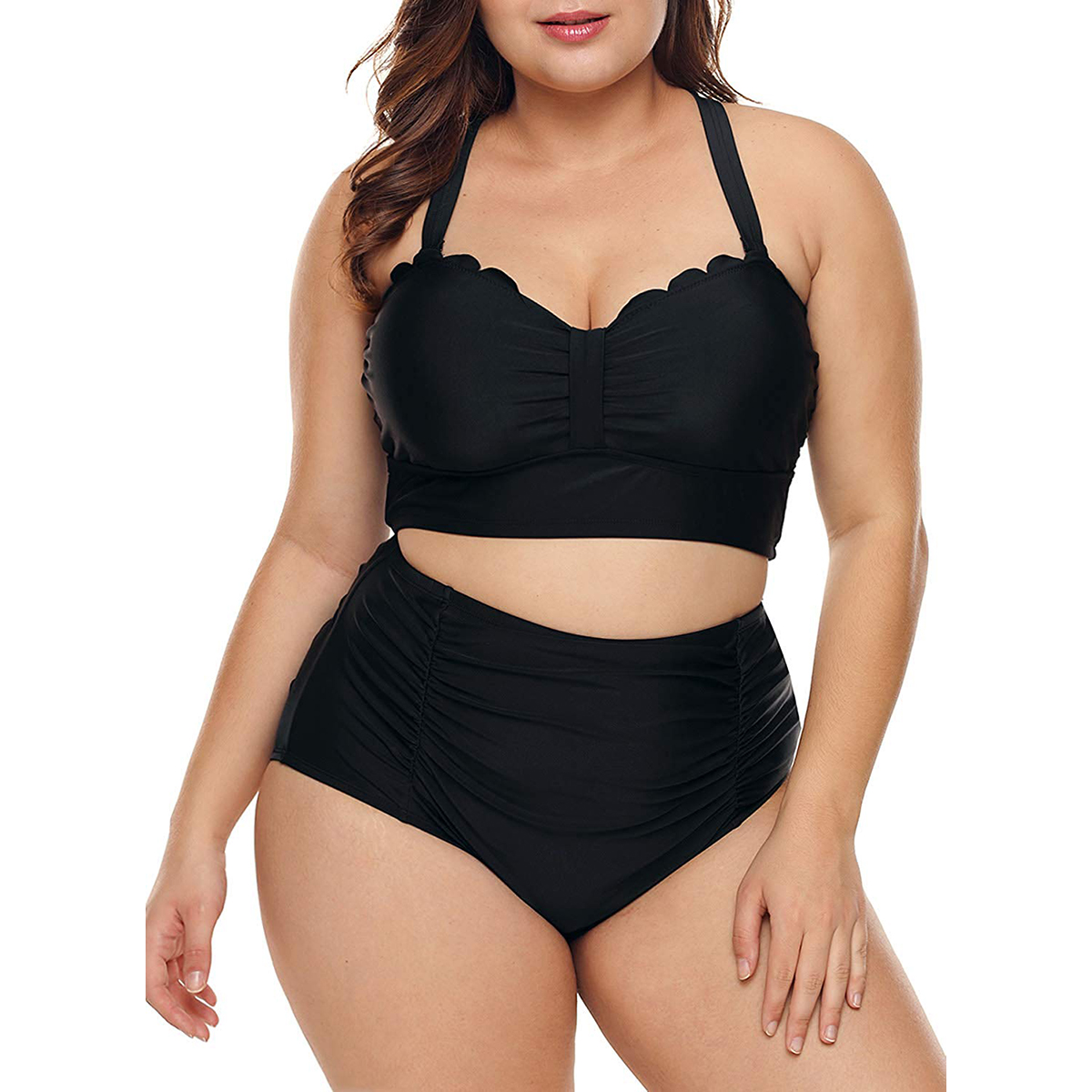 deralove-womens-plus-size-strappy-high-waisted-bikini