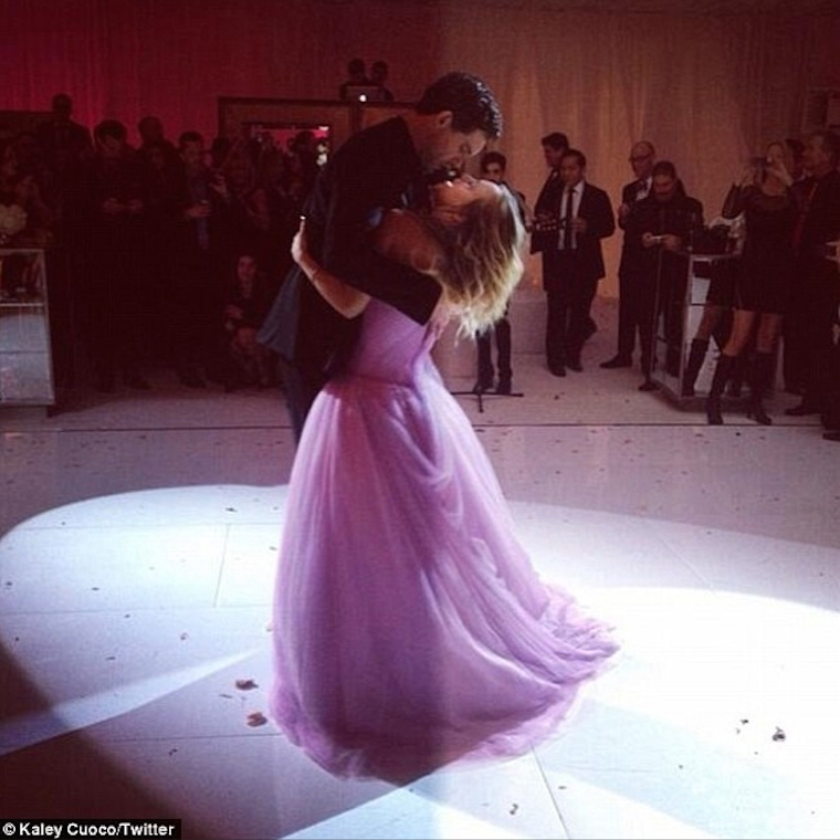 Kaley Cuoco and Ryan Sweeting (2014)