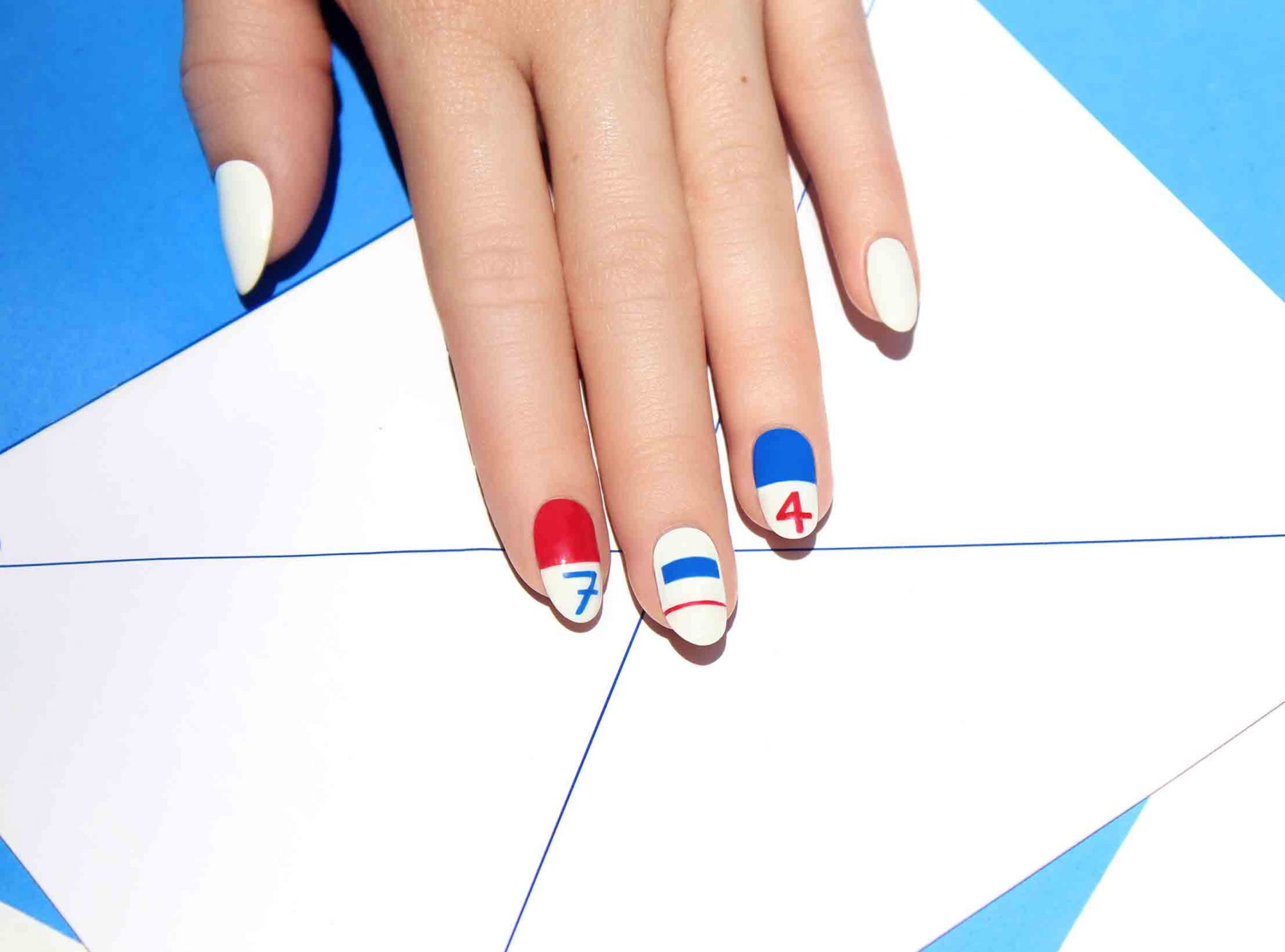 4th of July Nails - LEAD