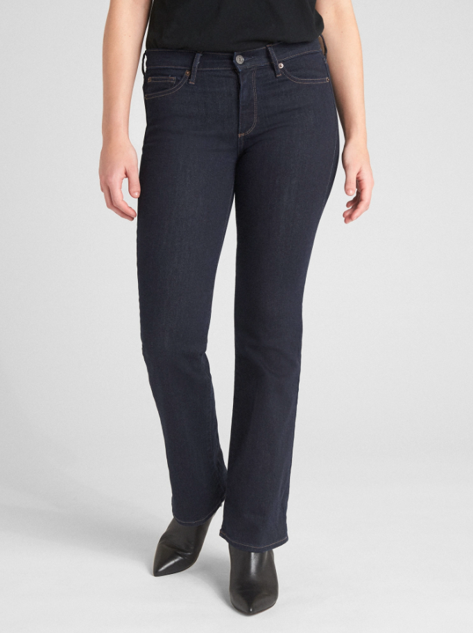 Gap Mid-Rise Perfect Boot Jeans