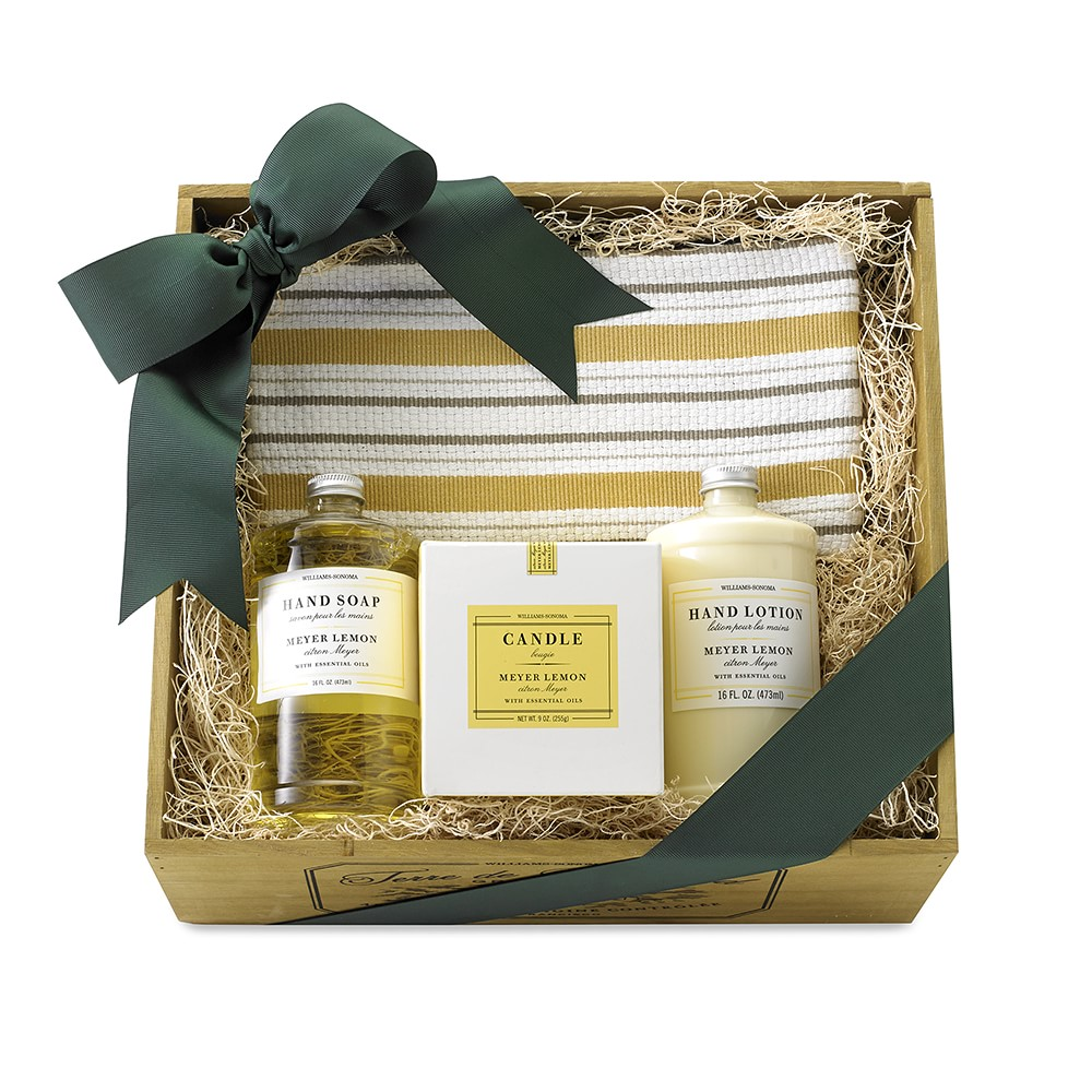 Meyer Lemon Scent Gift Crate