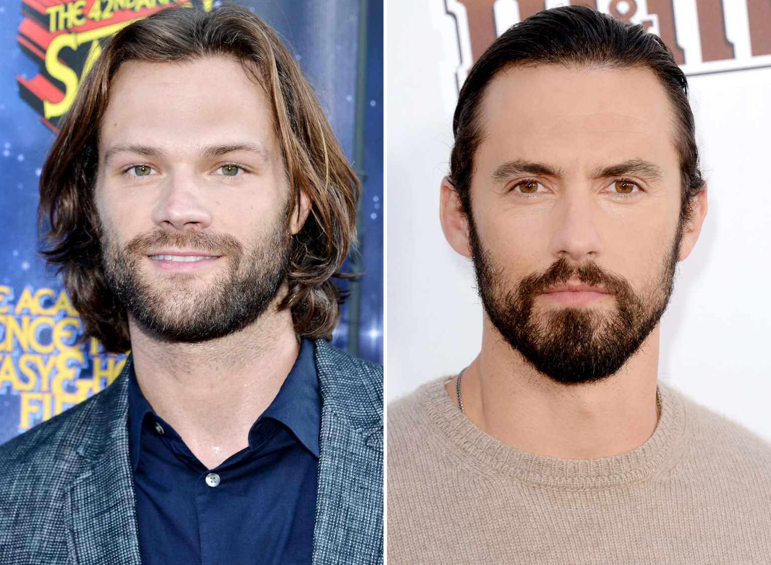 Jared Padalecki and Milo Ventimiglia