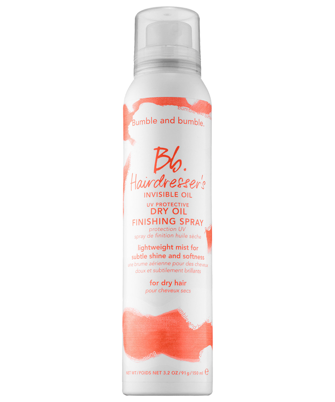 Best for Wavy Hair: Bumble and bumble Hairdresser's Invisible Oil Dry Oil Finishing Spray