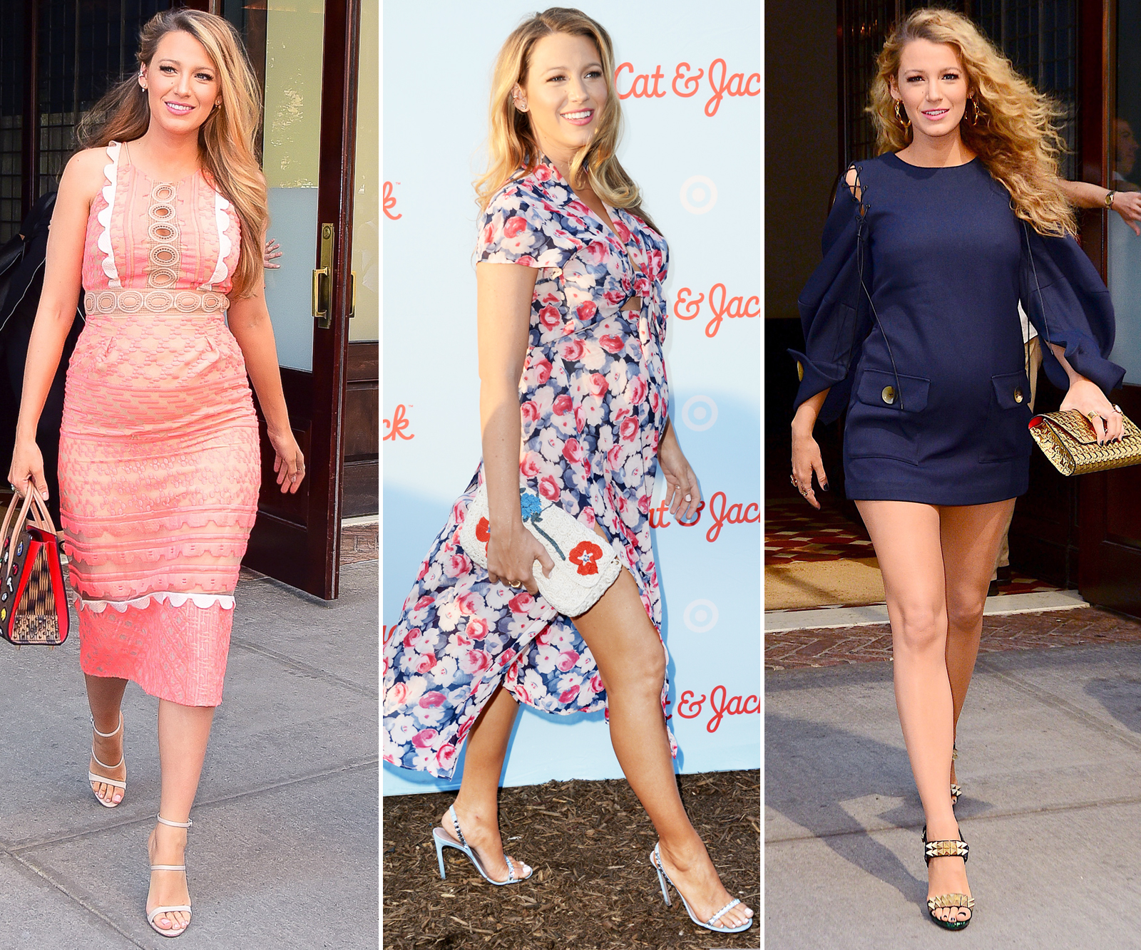 Blake Lively Maternity Style - Lead 2016
