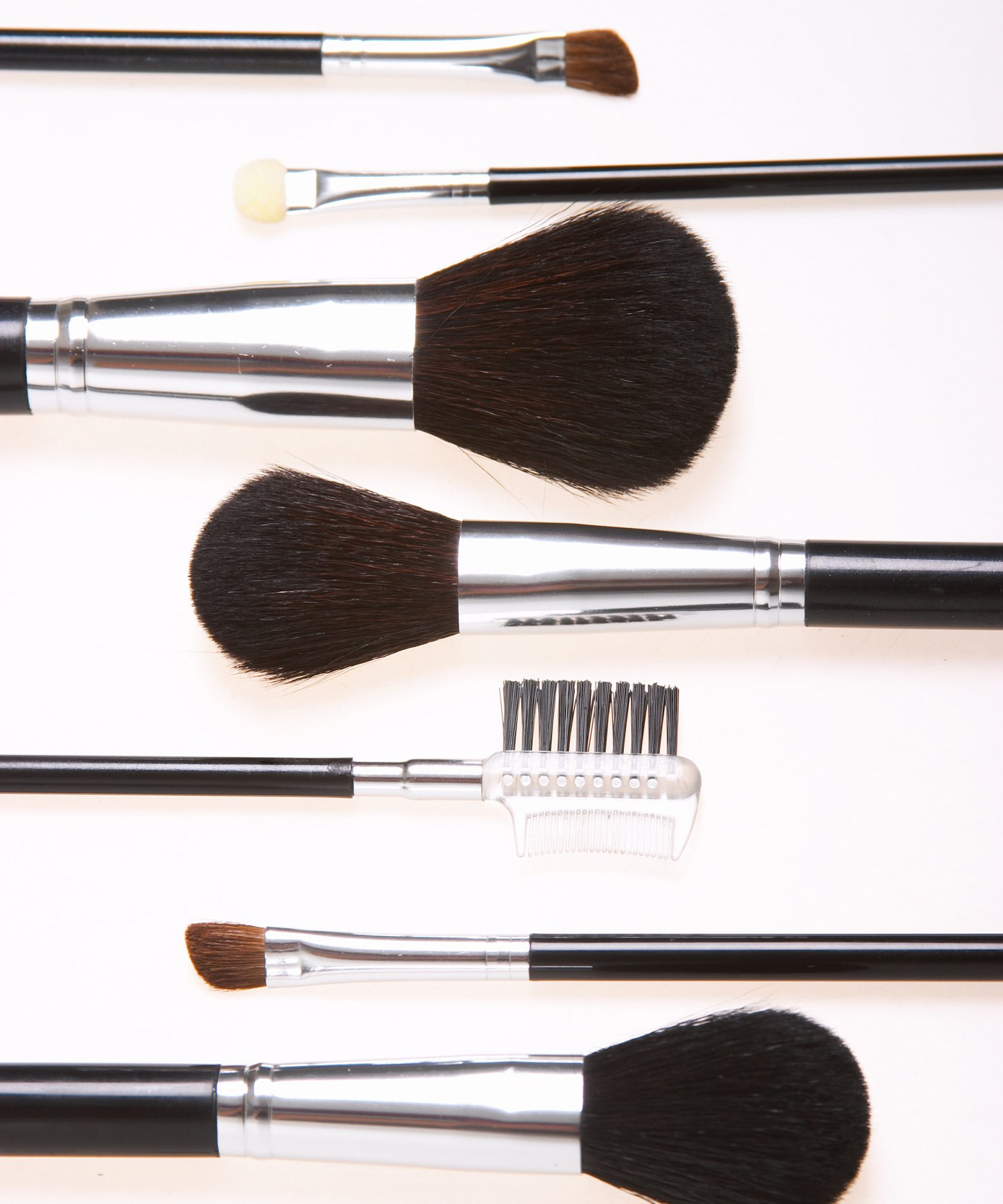 Cleaning Makeup Brushes Lead