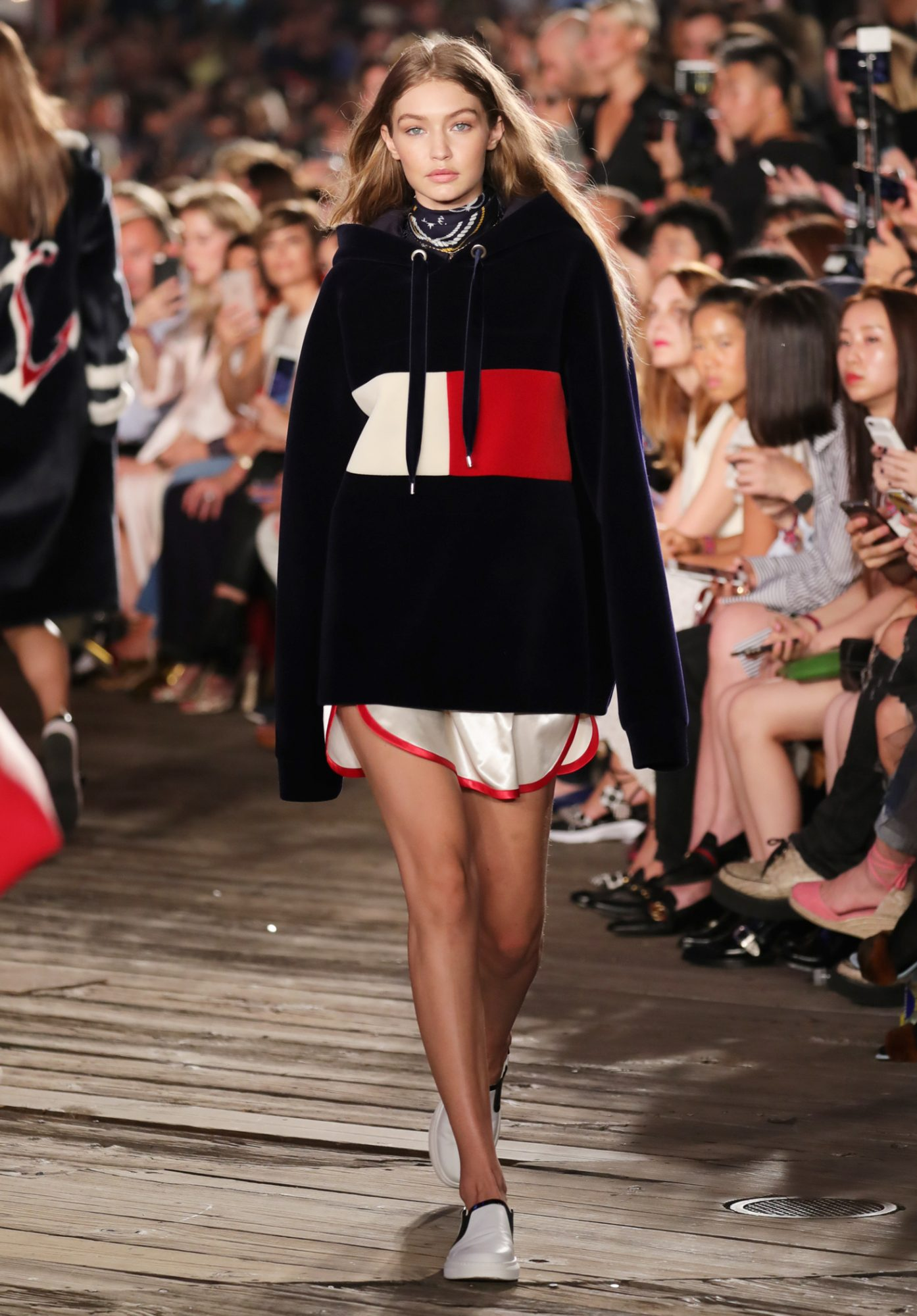 Tommy Hilfiger - Gigi Hadid - Look 2 - NYFW September 9, 2016