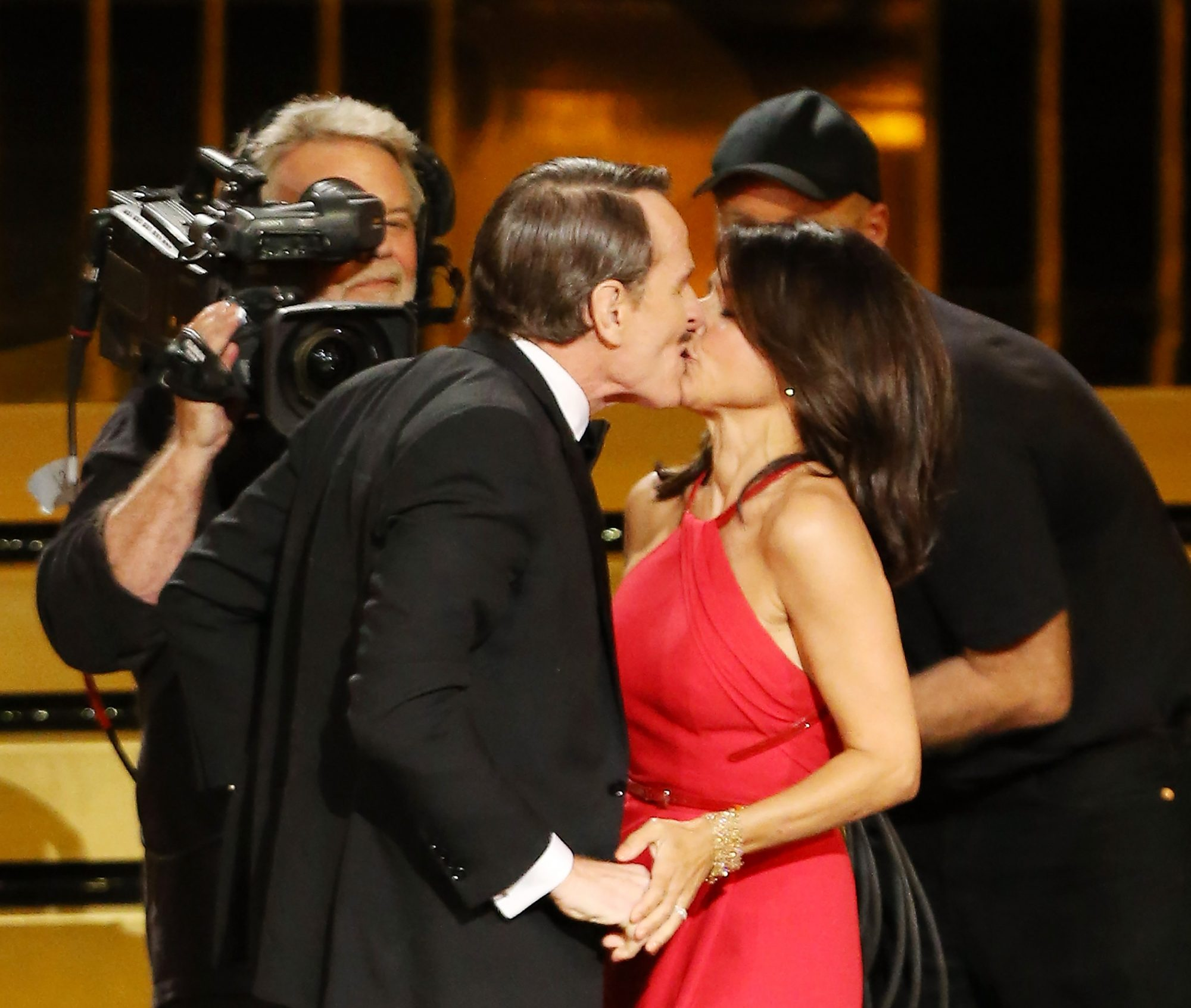 Julia Louis-Dreyfus and Bryan Cranston - 66th Annual Primetime Emmy Awards - August 25, 2014