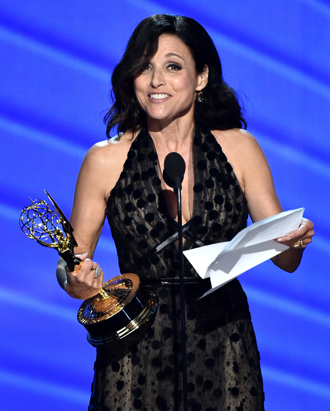 Emmys 2016 Julia Louis-Dreyfus Speech - Lead