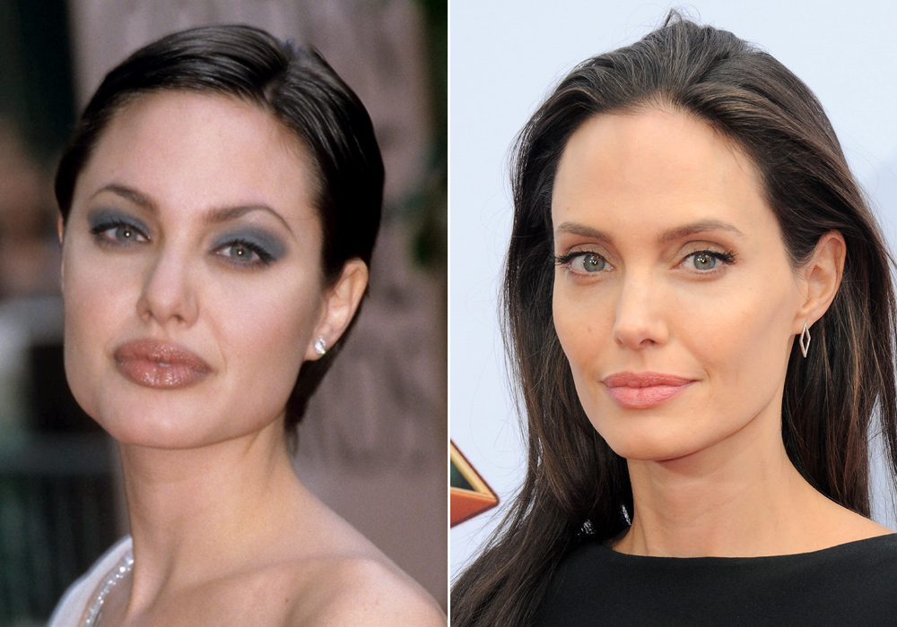Angelina Jolie Changing Looks - Lead