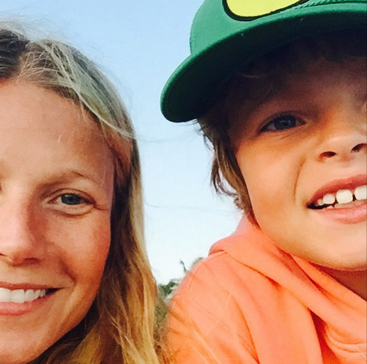 Gwyneth Paltrow and son Moses