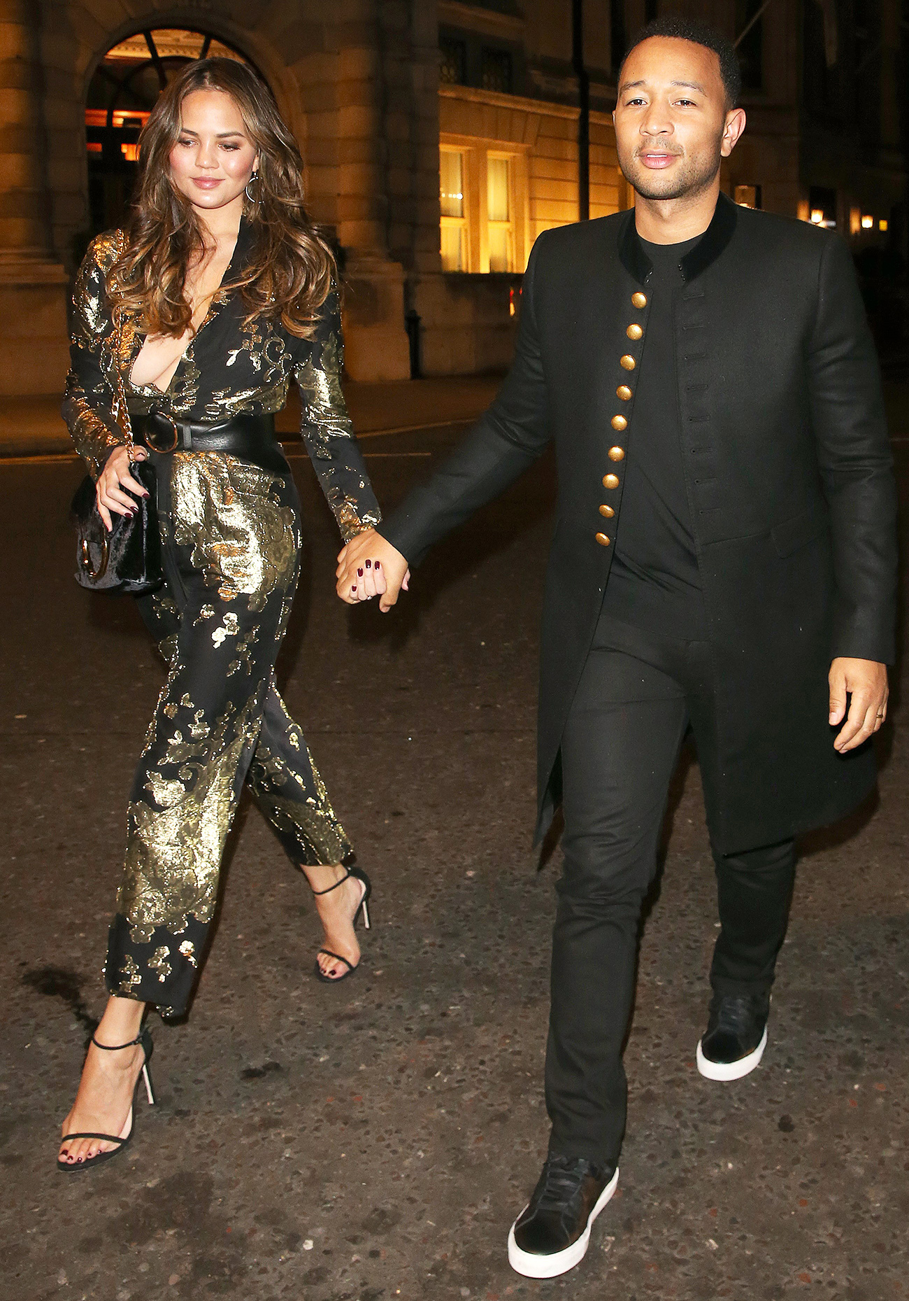 Chrissy Teigen and John Legend Date Night - Lead