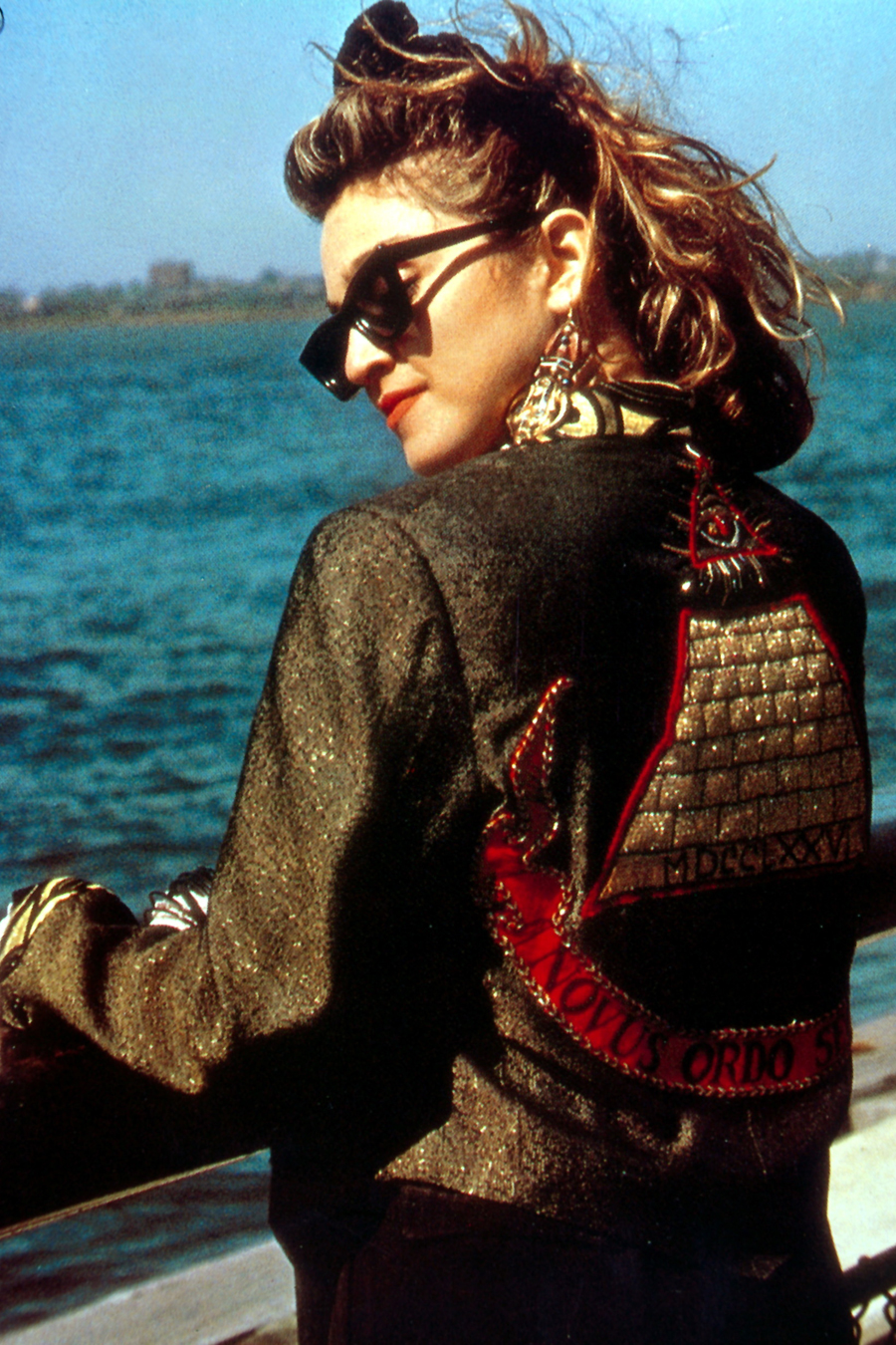 The Leather Mini: Madonna
