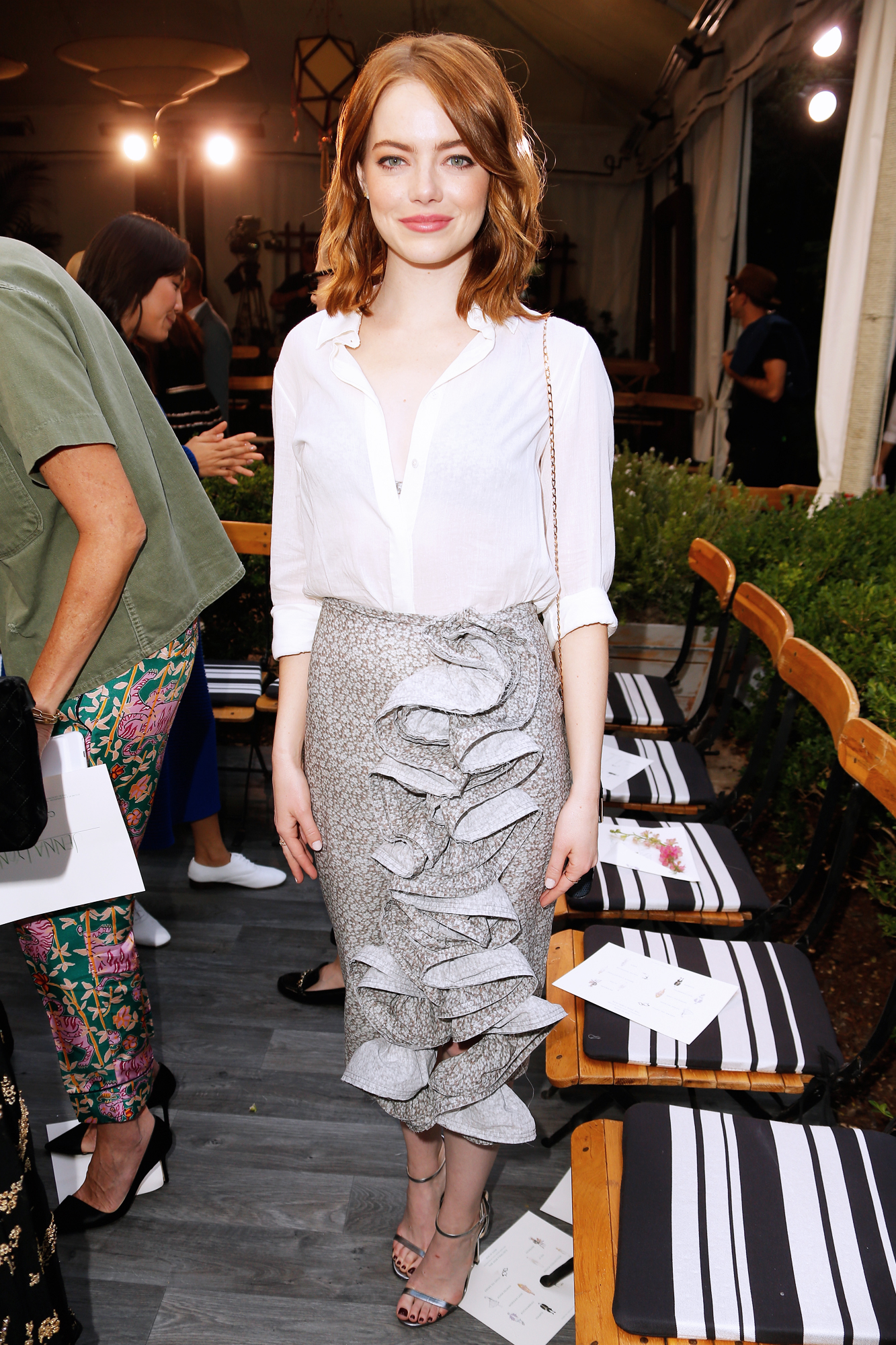 Emma Stone CFDA/Vogue Fashion Fund Show - Lead 2016