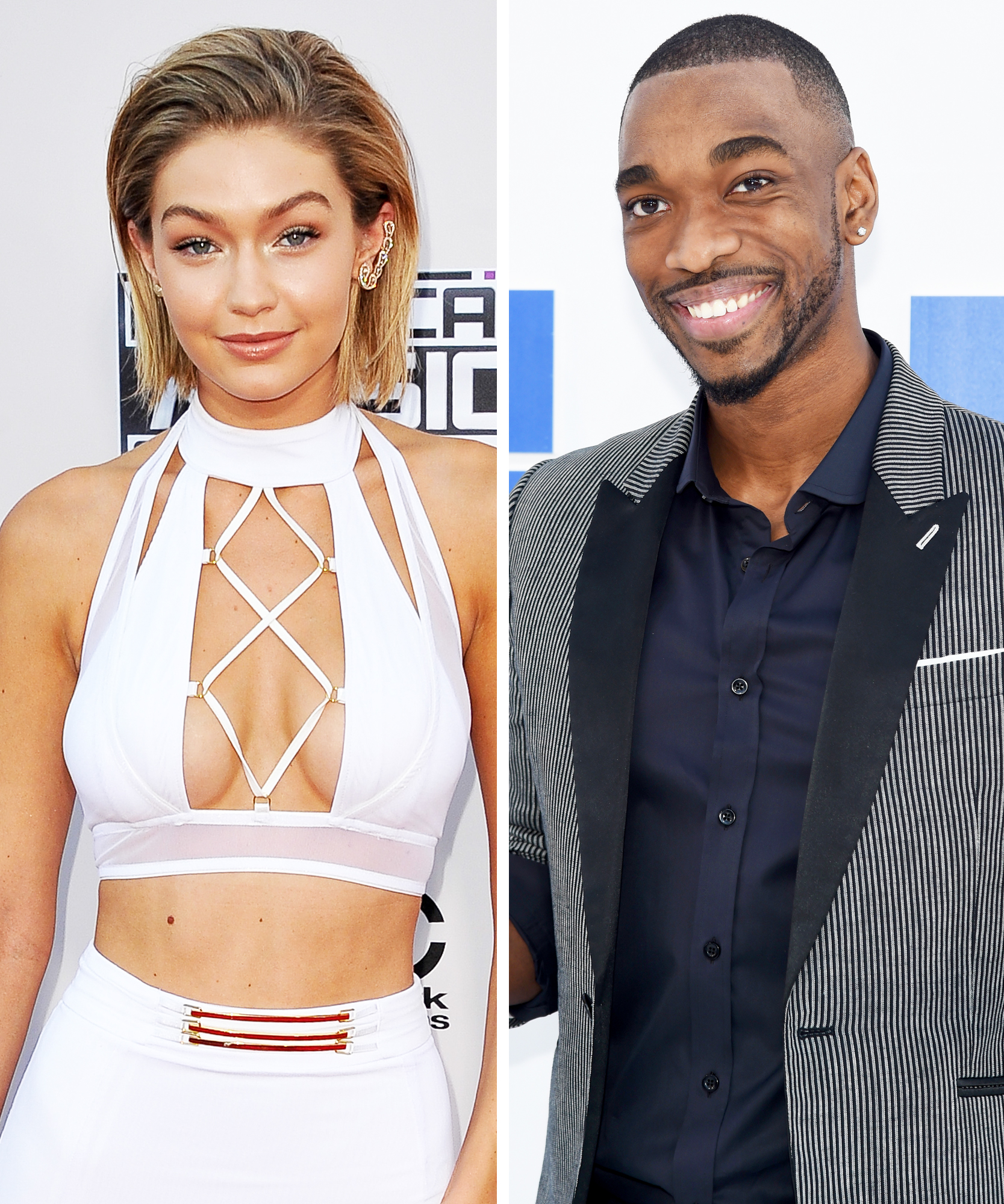 Gigi Hadid Jay Pharoah 2-Up - Lead 2016